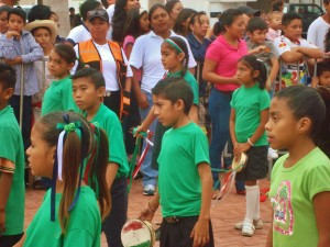 Mayan children ,Playa del Carmen