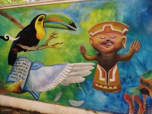 Mural, Street Art , Playa Del Carmen, graffiti