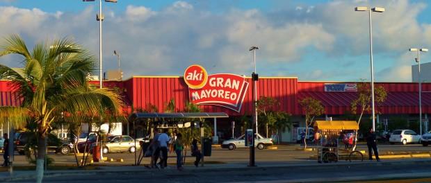 Aki, grocery store, Playa del carmen, mexico