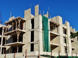 Construction in Playa De Carmen