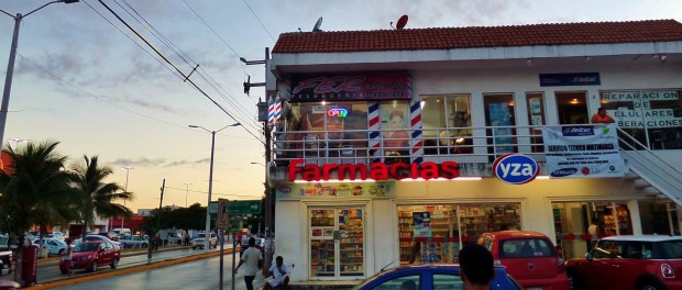 Barber Shop in Playa Del Carmen