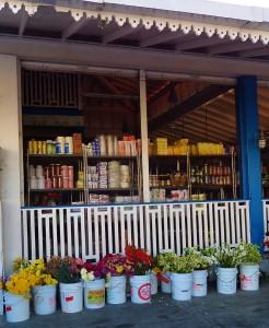 Dac market flowers in Playa Del Carmen