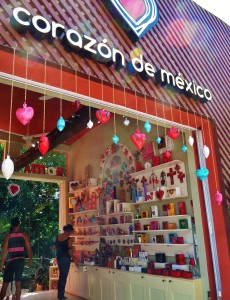 Corazon de Mexico gift shop in Playa Del Carmen