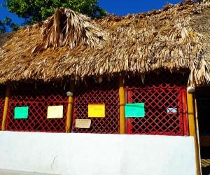 Mayan building, Playa del carmen