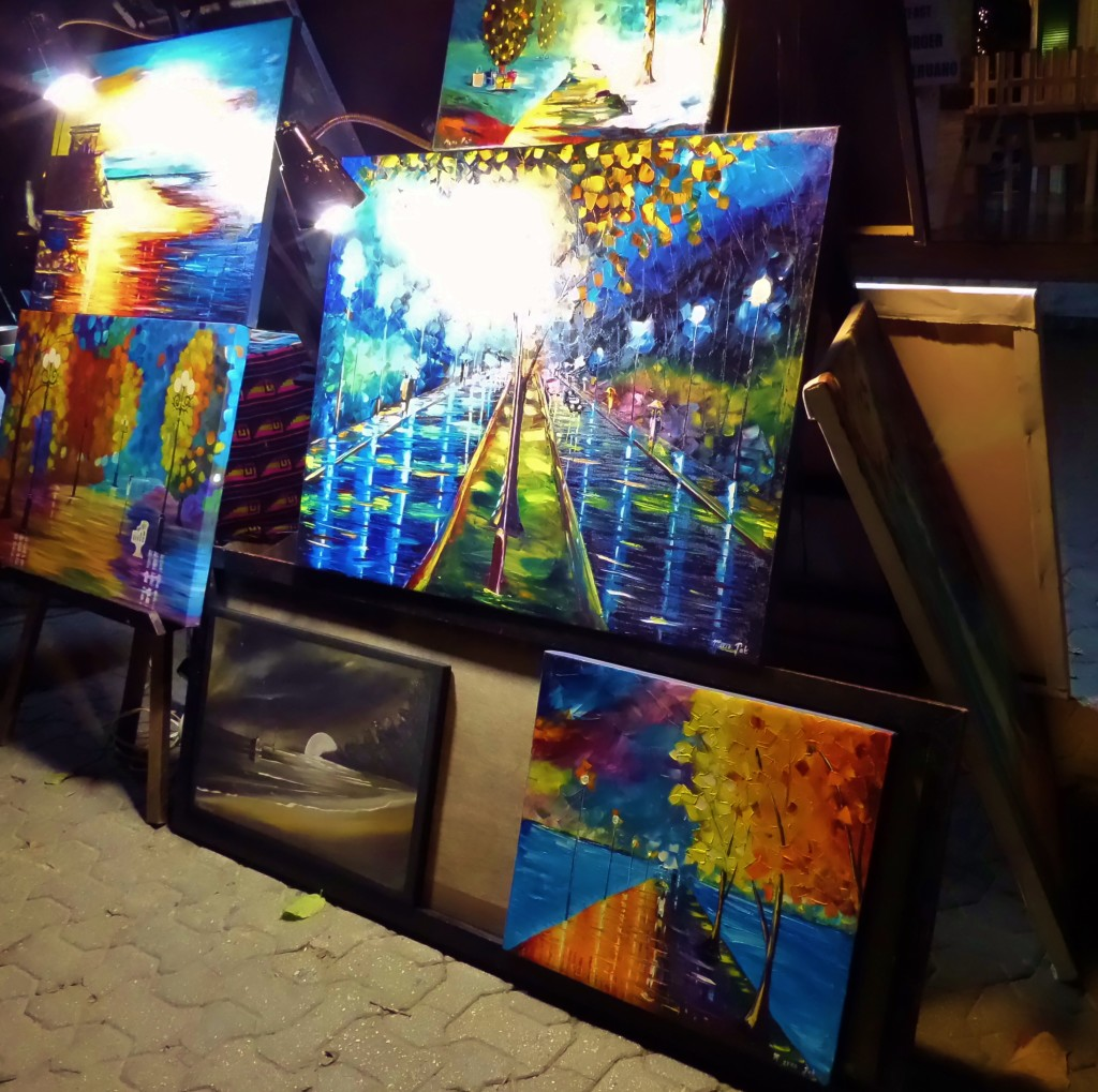 Art in 5th avenue everything playa del carmen for Buy mural paintings