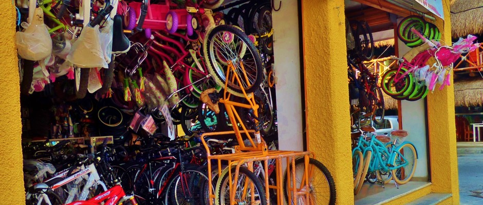 Bike Shop in Playa Del Carmen