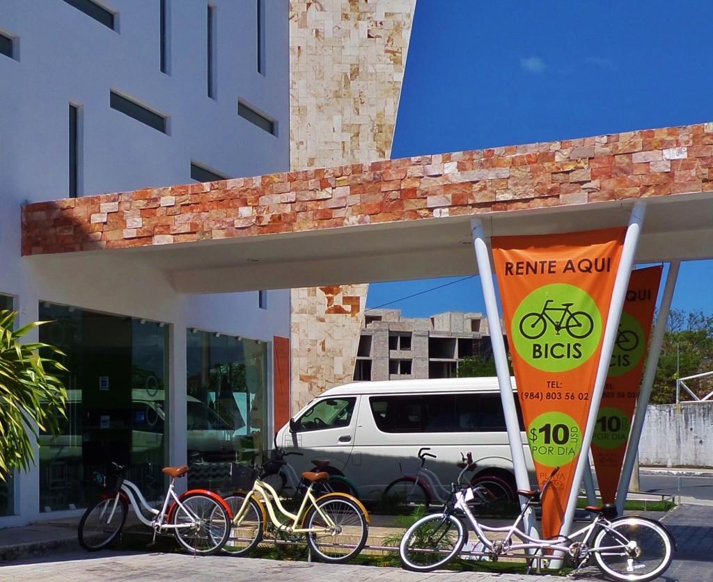 bike rental playa del carmen mexico