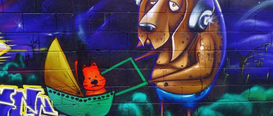 Street art, Playa del Carmen, graffiti