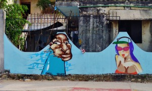 street art, Playa Del Carmen, Graffiti, Mexico