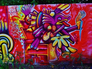 Street art and murals in Playa Del Carmen