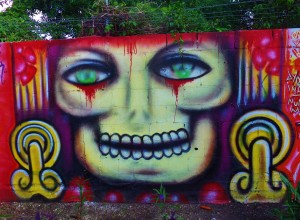 Street art and murals in Playa Del Carmen