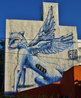 Street art in Mexico
