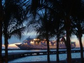 Cruise ship in Cozumel Mexico