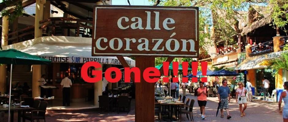 Calle Corazone in Playa Del Carmen