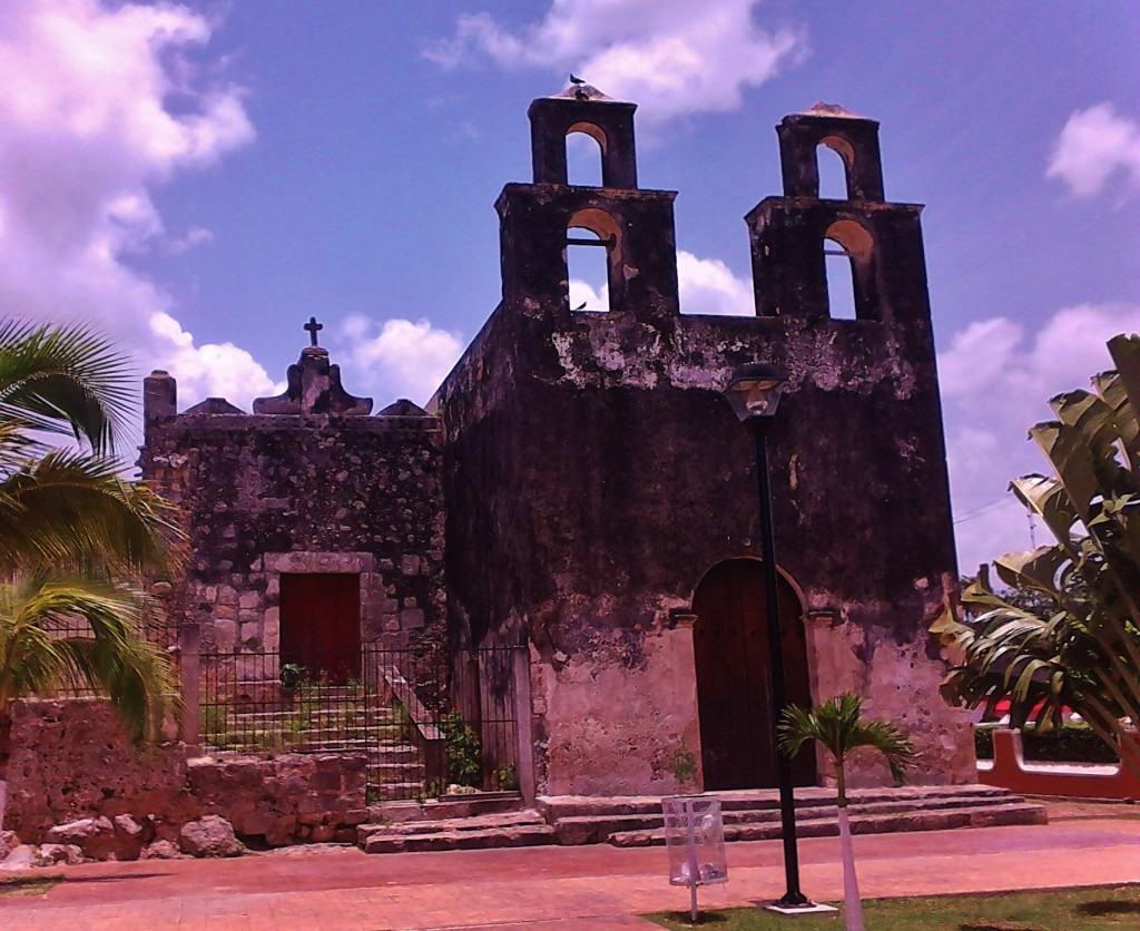 old church yucatan