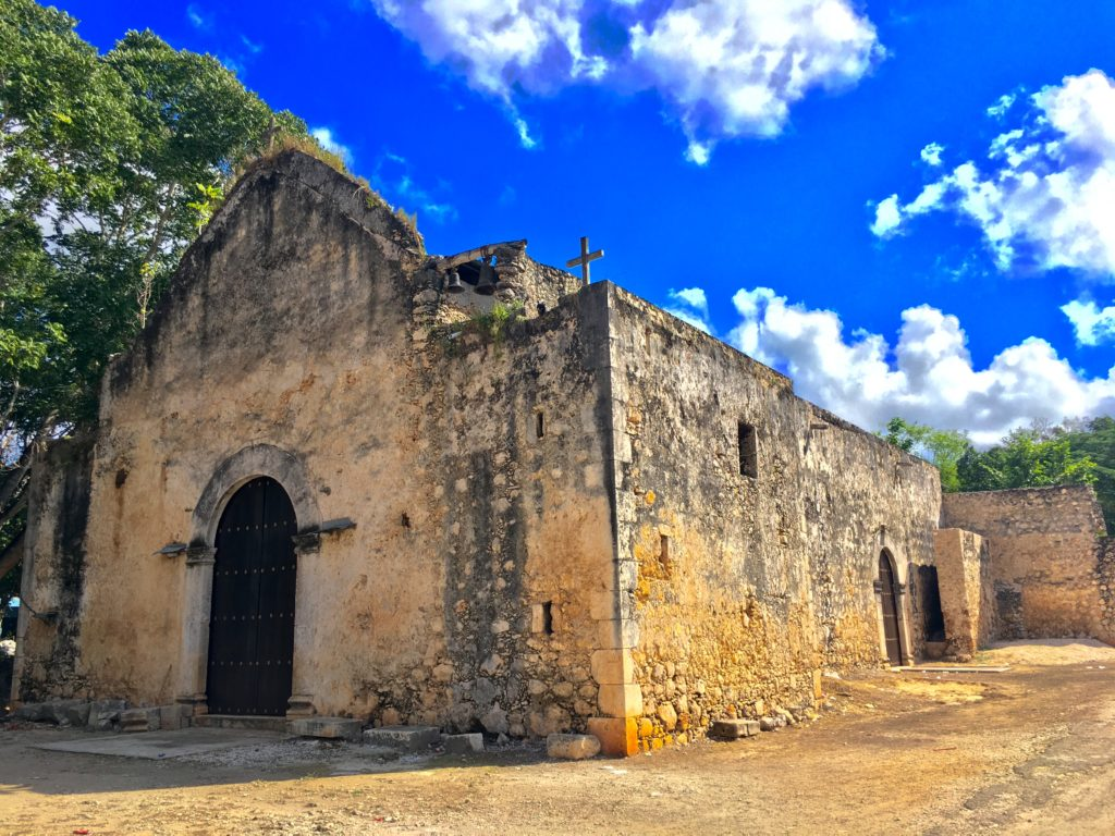 Pixoy old Churches Yucatan Mexico