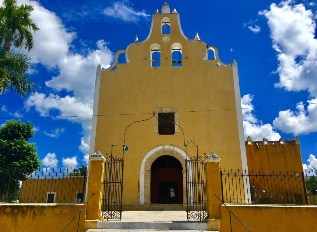 Tunkas old Churches Yucatan Mexico