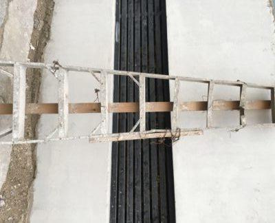 old ladder broken