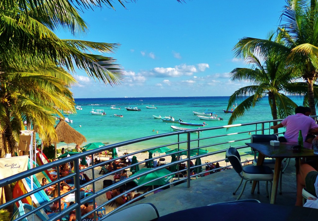 canibal royal, beach club, playa del carmen