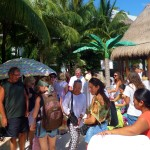 farmers market Coco Beach Eco Market Playa del Carmen Mexico