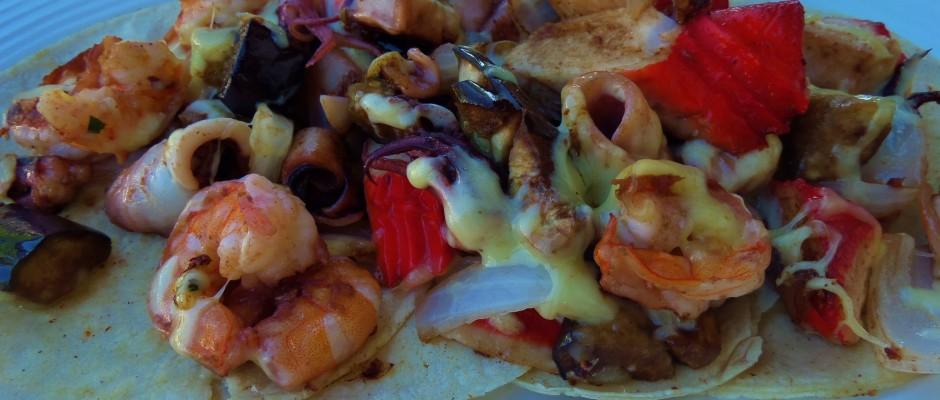 Puerto Morelos Mexico tacos