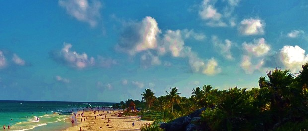 Best beach in Tulum