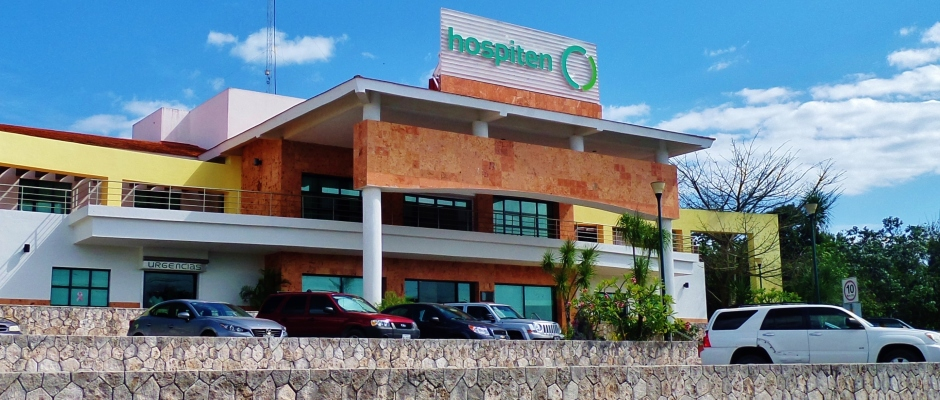 Hospiten hospital in Playa Del Carmen