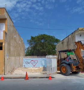 new construction in Playa Del Carmen Mexico