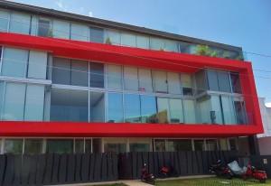 Modern building Playa Del Carmen