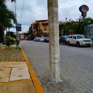 street playa del carmen mexico