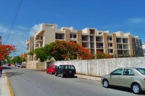 Anah condo building Playa del Carmen
