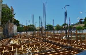 Construction in Playa Del Carmen Mexico