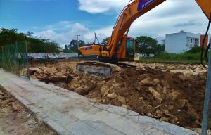 new condo construction in Playa Del Carmen