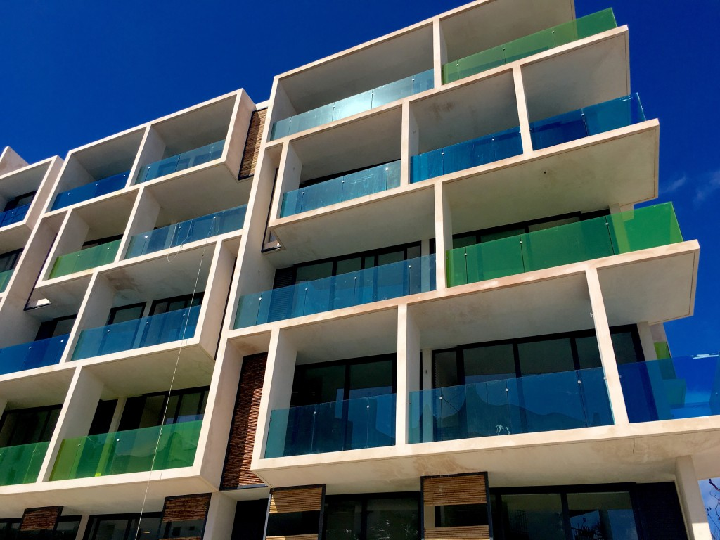 Modern new condos in Playa Del Carmen