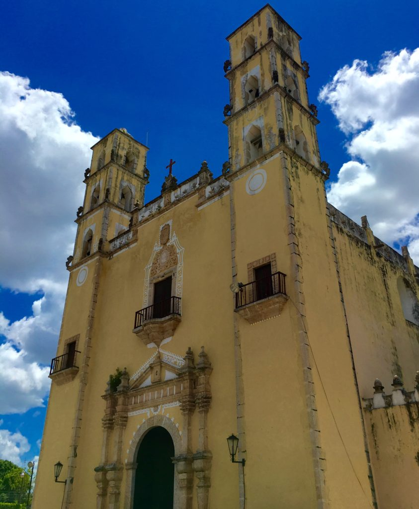 Main Cathederal in Chemax, Yucatan