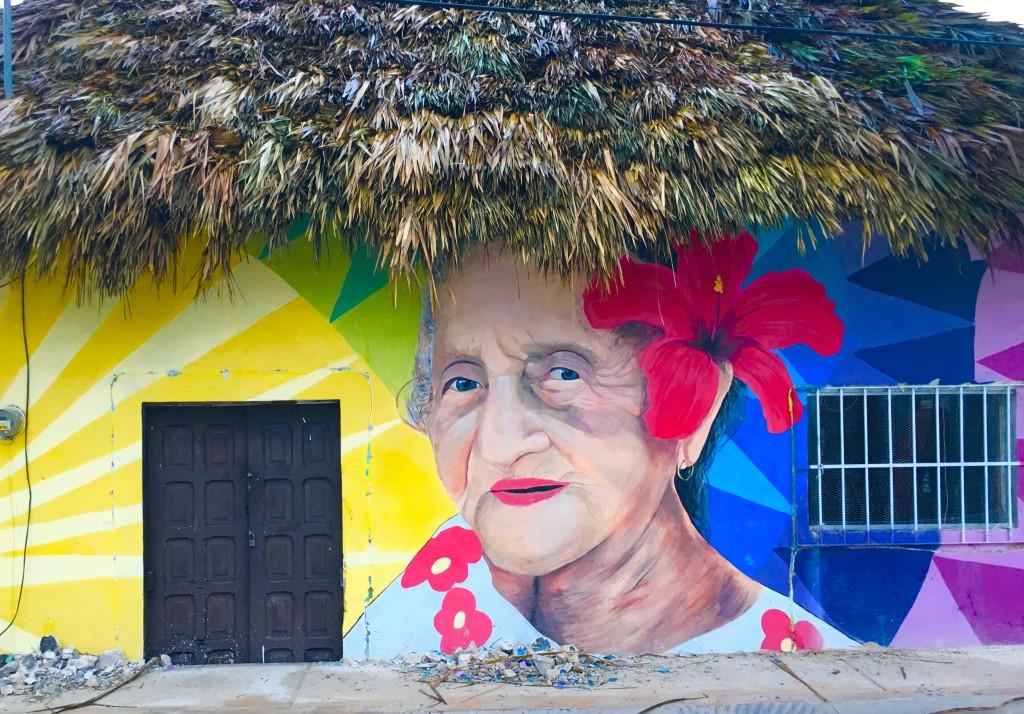 Isla Holbox mural