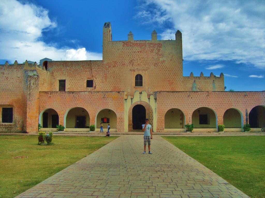 Convent in Valladolid yucatan