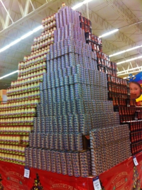 The Mayans have always been good at building pyramids, even today at Walmart you can see their ability!