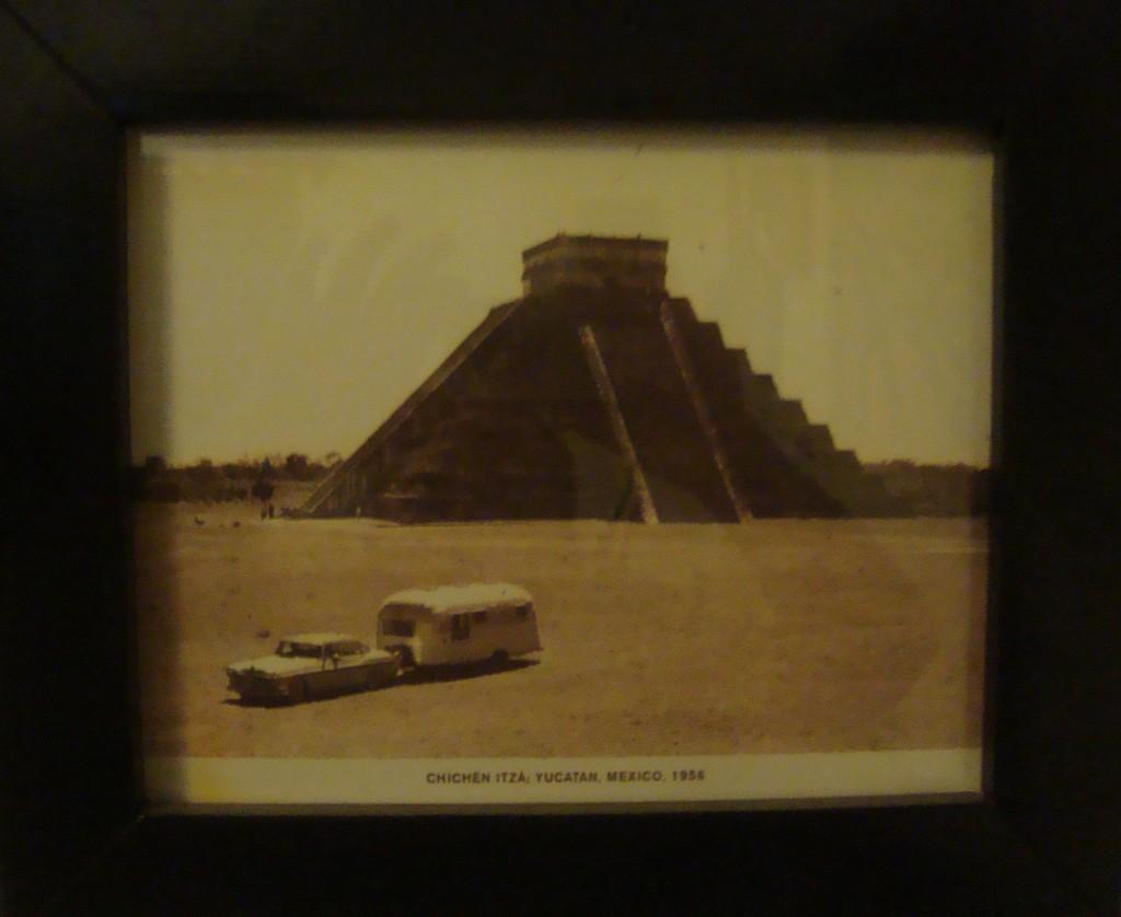 Chichen Itza old photo