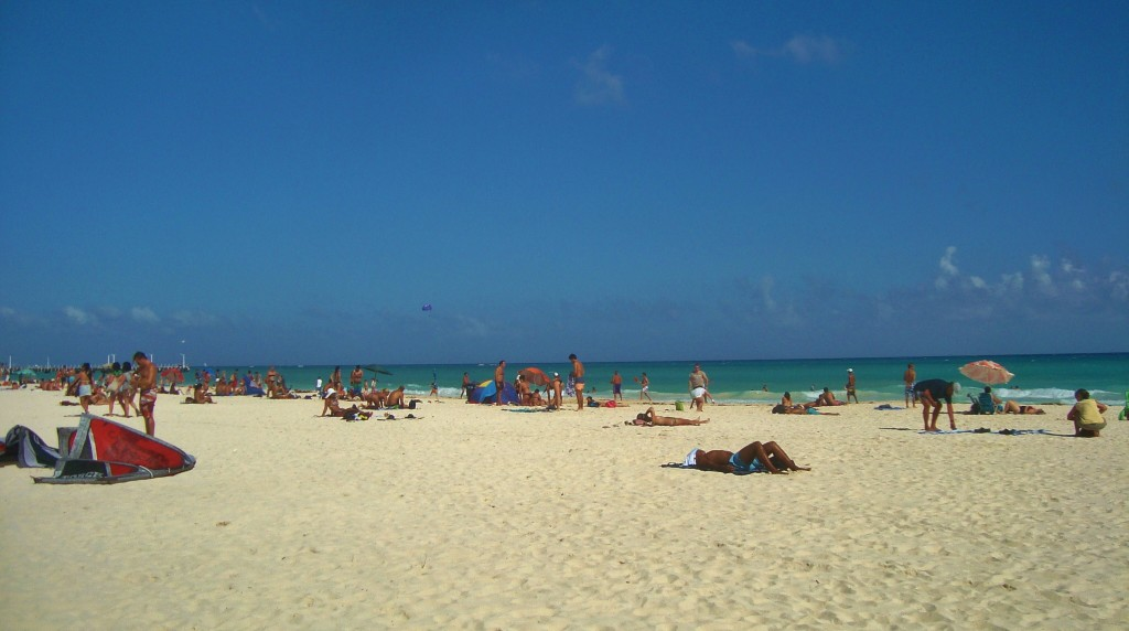 Beach Playa DelCarmen