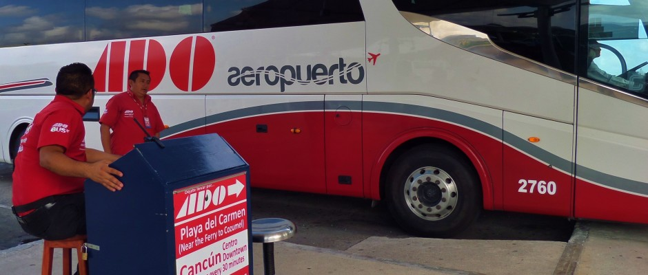 ground transportation from Cancun Airport to Riviera Maya