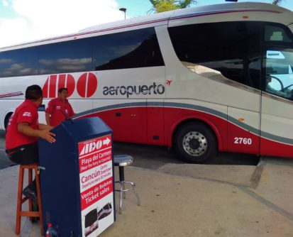 Cancun Airport to Playa Del Carmen bus