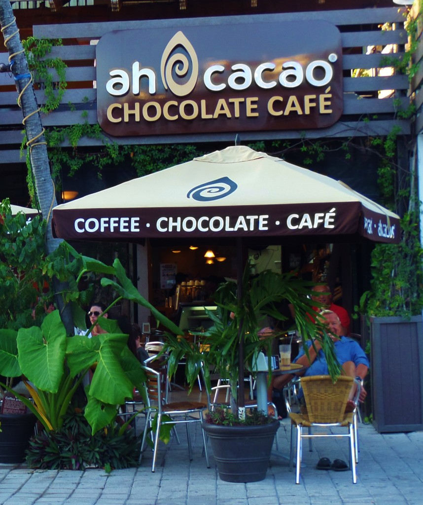 Ah Cacoa Cafe Playa Del Carmen chocolate
