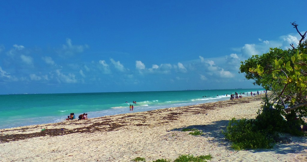 Isla Blanca, Cancun, beach