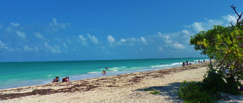 Isla Blanca, Cancun, beach