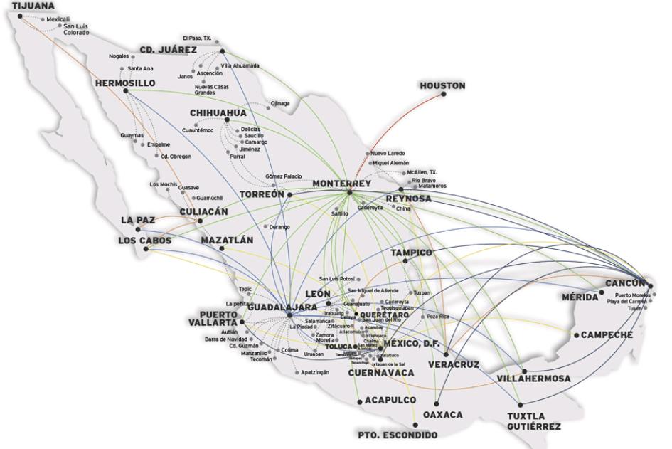 flights in Mexico