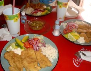 FRied fish, Playa Del Carmen
