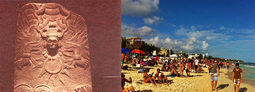 sun worshipers Mayan