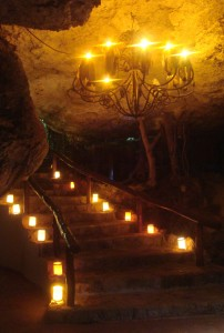 Alux restaurant playa del carmen mexico cenote cave