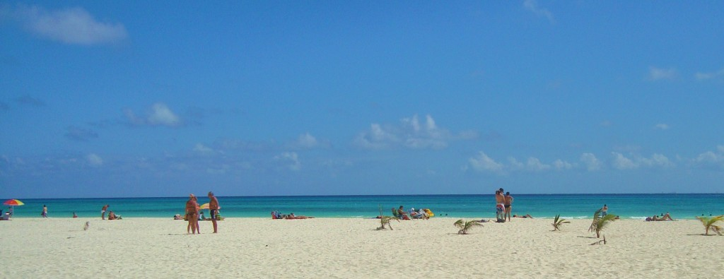 Beach Playa Del Carmen Mexico